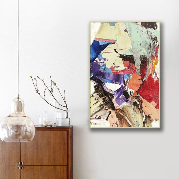 ART。DECO  抽象掛畫 塗鴉 藝術 油畫 客廳 裝飾 設計 工作室