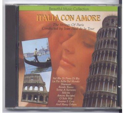 ITALIA CON AMORE 義大利民謠音樂 1988年無IFPI