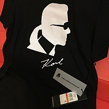 🙀Karl Lagerfeld🙀Logo Short sleeve graphic tee with iconic karl logo