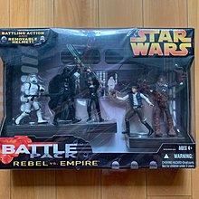 【清位割價】星球大戰 3.75 五個可動 Darth Vader 黑武士 白兵 Emperor 3吋半 Figure Star Wars Hasbro