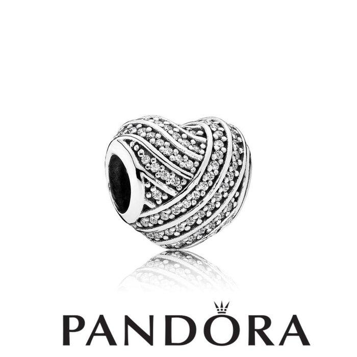 金永珍珠寶鐘錶* 2016最新款 PANDORA 潘朵拉 原廠真品 母親節 交織水鑽愛心 現貨*