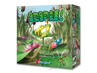 【正版桌遊】跑跑蛙!-繁體中文版 Croak!