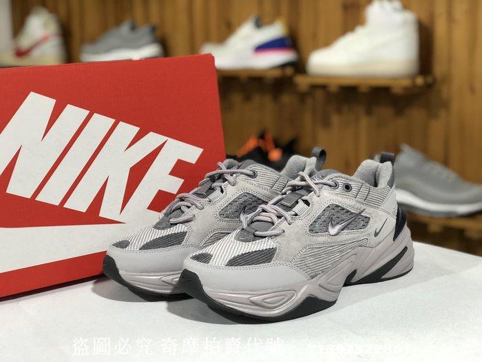 """Nike M2K Tekno""""麂皮水泥灰""""復古 老爹鞋 BV0074 001 男女鞋"""