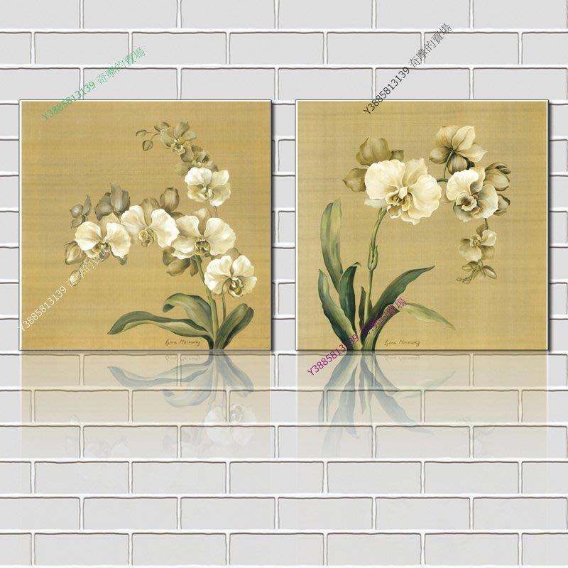 【40*40cm】【厚2.5cm】小花-無框畫裝飾畫版畫客廳簡約家居餐廳臥室牆壁【280101_209】(1套價格)