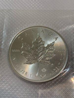 2016年 加拿大 楓葉 銀幣 裸幣 含原廠封膜