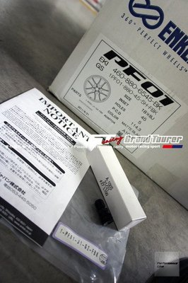ENKEI PF01 18吋 MAT 鍛造輕亮化鋁圈 5H114.3 / 5H112 消光黑 MADE IN JAPAN