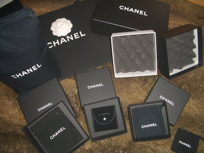 名品特搜站~ Chanel 原廠防塵袋、紙盒、紙袋、緞帶,不是LV不是Hermes 新北市