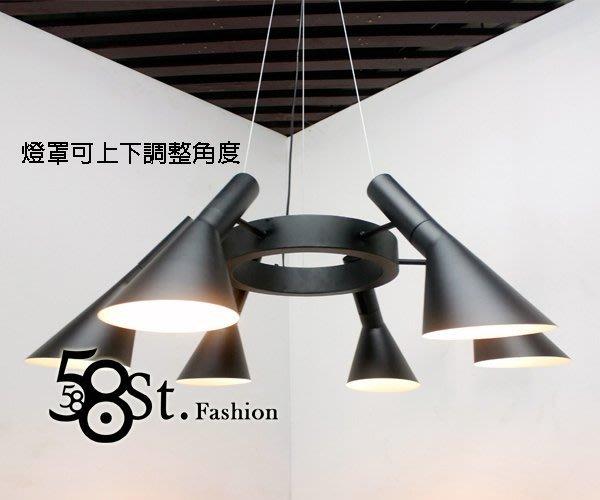 【58街】義大利設計師款式「AJ吊燈」美術燈。複刻版。GH-457