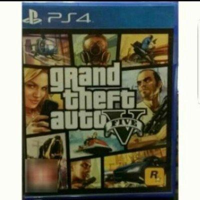 【24小時內發貨】PS4遊戲片 GTA5 中文版 俠盜獵車手5 俠盜獵車手V 俠盜列車手俠道獵車手俠盜烈車手 GTA V