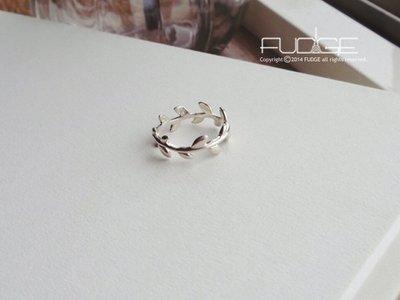 FUDGE法橘 / 正韓 Laurea桂冠戒指/純銀系列/LR11234