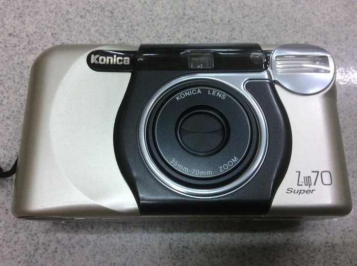 保固一年] [明豐相機 ] konlca z-up 70 super 底片相機 便宜賣 c35ef