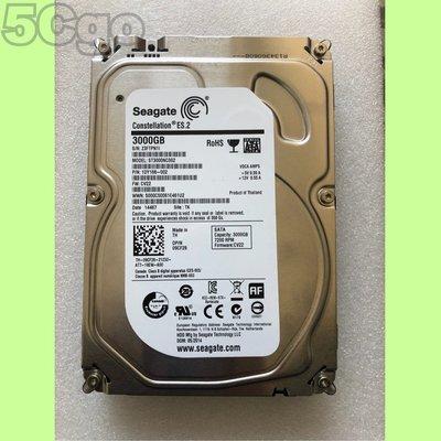 5Cgo【權宇】希捷ST3000NC002 3TB 3T 3.5吋監控用硬碟64MB 7200轉SATA 6G/s 含稅