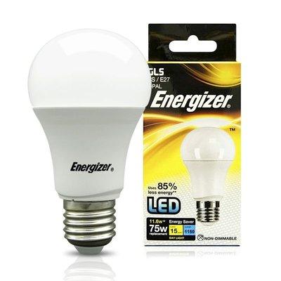 (12個裝) 美國 勁量 LED 電燈膽 (11.6w,E27鑼絲頭,球膽,1150LM流明,6500K,冷白光)