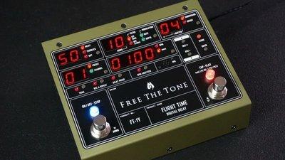 【成功樂器】日本頂級 Free The Tone Fight Time FT-1Y Delay 效果器