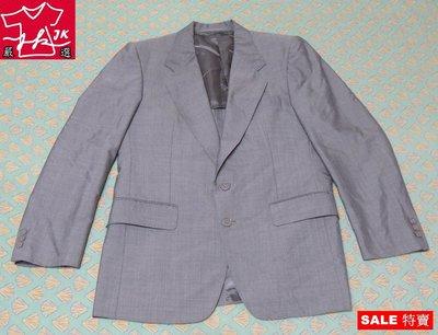 Carnival 嘉裕西服 西裝外套 羊毛 修身雙扣版-男款-38R【JK嚴選】