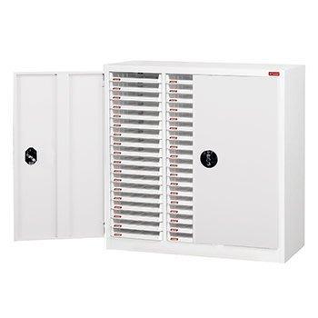 《瘋椅世界》OA辦公家具全系列 A4X-354PD (加門型)三排落地型樹德櫃/效率櫃/檔案櫃/收納櫃/公文櫃/資料櫃