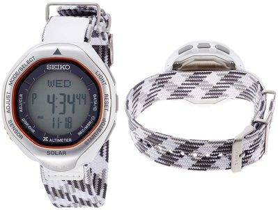 日本正版 SEIKO 精工 PROSPEX 登山 SBEB039 手錶 太陽能充電 日本代購