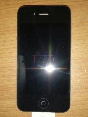 $${故障機}I phone 4s (A1387)黑$$