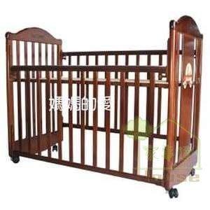 [ 家事達 ] Mother's Love--6388 噗噗熊四段調整嬰兒床 中床(含成長側板) 特價