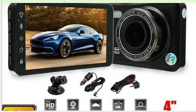 New touch screen 4 inch driving recorder HD dual lens 1080P  C203 29012020