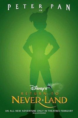 夢不落帝國-Return to Neverland (2002)原版電影海報