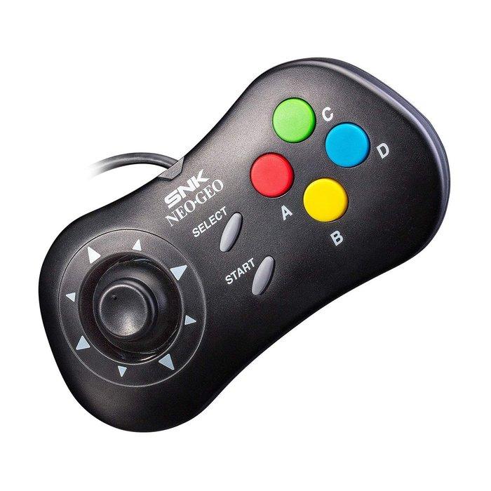 現貨中 SNK 40 周年紀念遊戲機 SNK NEOGEO mini 黑色有線控制器 9月預定【板橋魔力】