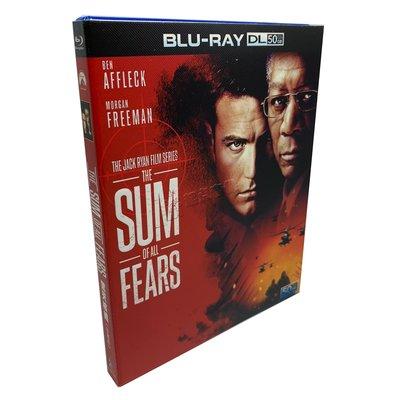 動作電影 驚天核網 The Sum of All Fears藍光碟BD50高清收藏版 繁體中字  全新盒裝