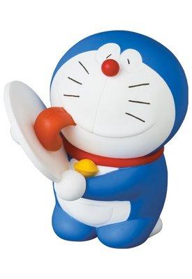 日本 東京 MEDICOM TOY 藤子F不二雄博物館 哆啦A夢 舔盤子 UDF 公仔 模型 玩具 NO.574