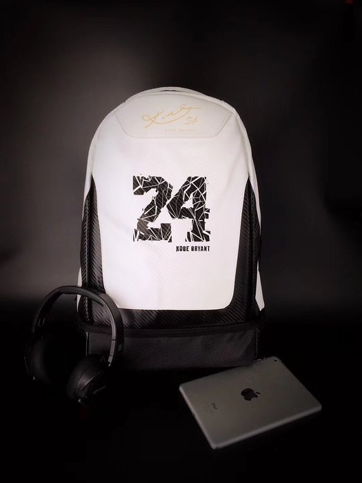 NBA球星湖人隊科比Kobe24號電腦背包運動包籃球時尚高中校園