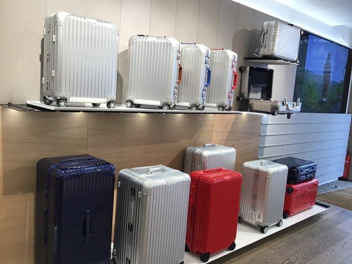預購含運 RIMOWA ORIGINAL Cabin Twist 新款雙色20吋可攜帶上飛機行李箱,送保護套。