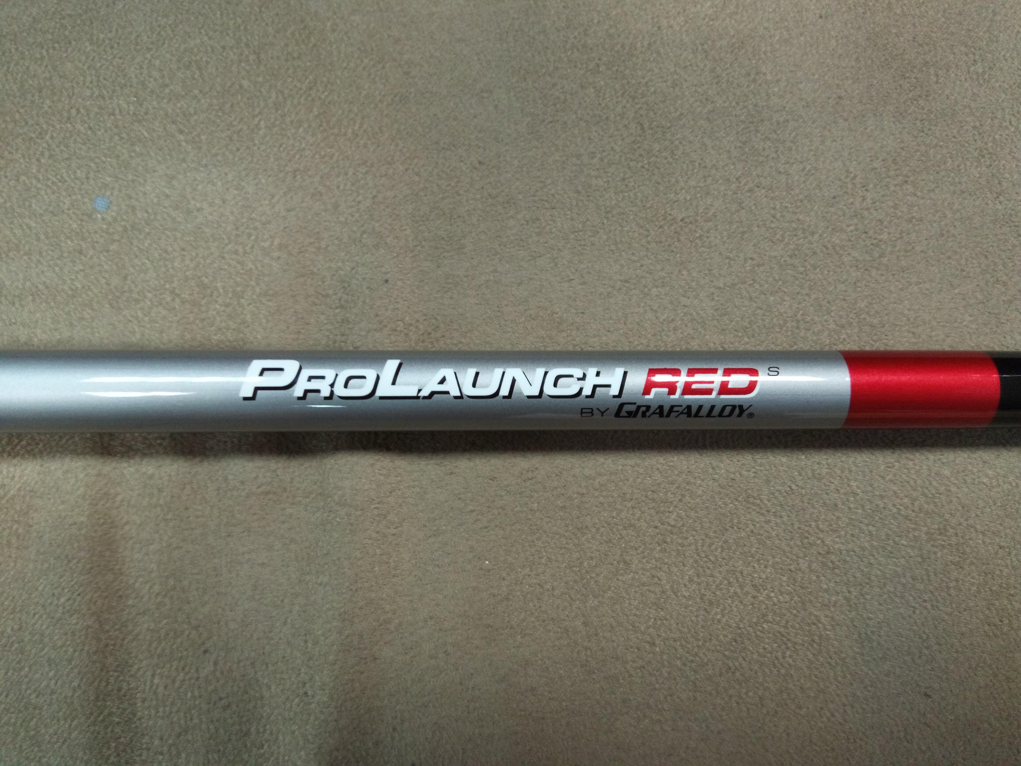 (狗夫小舖)GRAFALLOY GOLF PRO LAUNCH RED開球木桿身系列