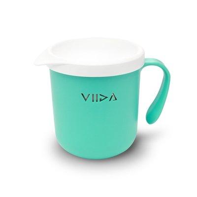 【現貨】QB選物 ❤ VIIDA ❤ Soufflé  抗菌不鏽鋼杯-湖水綠