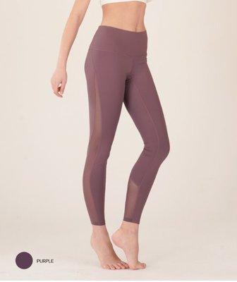 【艾利洋行】 ( TrueFoxy ) Mesh Panel Leggings 瑜珈褲/韻律褲/瘦身褲