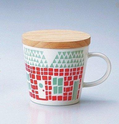 《散步生活雜貨-廚房散步》日本製 maebata 北歐雜貨  TWELVE MUGS 馬克杯(附杯蓋)-Home