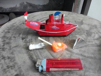 煤油燈船~~自動~~鐵皮玩具