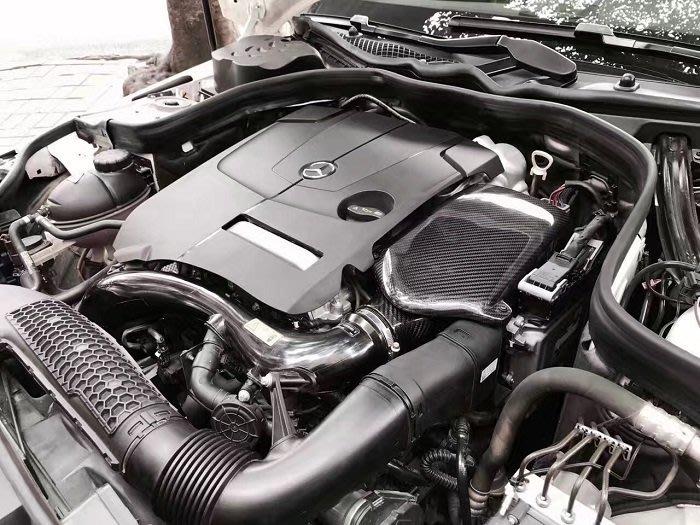 ☆光速改裝精品☆Fogiago BENZ CLS260 2.0T 碳纖維進氣套件