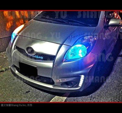 2010 2011 2012 2013 豐田 TOYOTA YARIS 日行燈 前保桿 空力套件