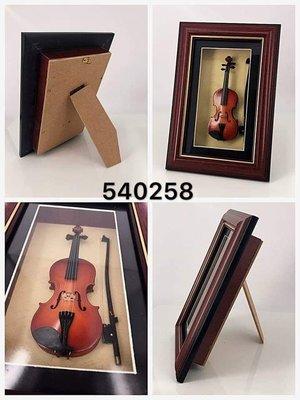 3個95折!迷你小提琴 Violin 相架模型 music instrument Violin figure 1:6 model with frame