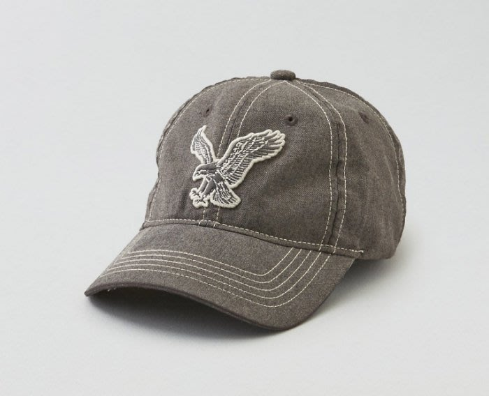 。simple。美國 American Eagle AE 男生 老鷹 logo 棒球帽 鴨舌帽 現貨在台