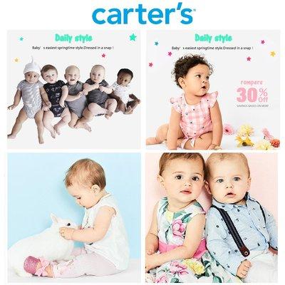 MELEK Clothes 代購正品現貨 【Carter's】 Carter's 男女嬰幼兒童裝 3M-24M