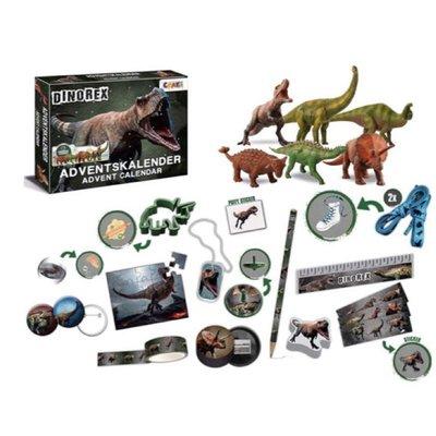 德國 CRAZE 侏羅紀公園 聖誕節倒數戳戳樂日曆 降臨曆 現貨供應