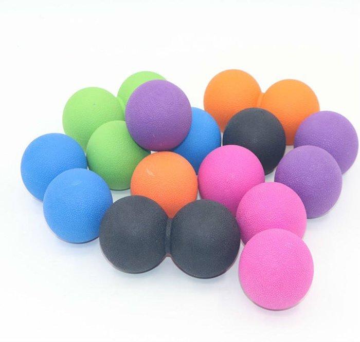 花生按摩球 隨機出貨 深層肌肉放鬆球筋膜球曲棍穴位按摩球按摩療癒健身球【SG119