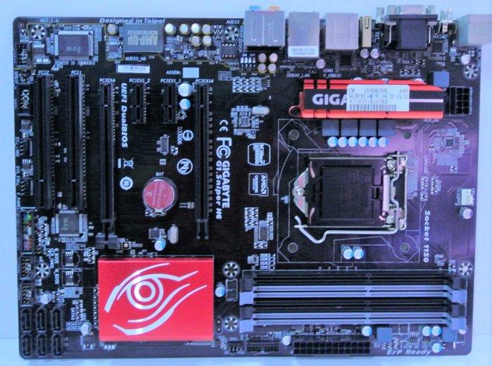 ~ 駿朋電腦 ~ 技嘉 G1.Sniper H6 H97晶片 1150主機板 DDR3 USB3.0 顯示 $1500