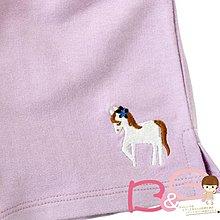 【B& G童裝】正品美國進口Crazy8白馬圖樣紫蘿蘭色短褲3yrs