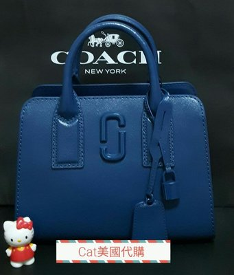 現貨~全新MARC JACOBS  little big shot DTM Hudson River Blue ~特價$9999含運