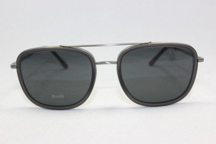 安安精品~全新正品BURBERRY BE3085Q-10085V拉絲青銅色/灰色太陽鏡