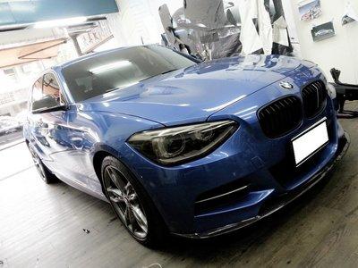 BMW M135I 車燈貼膜 大燈貼膜 熏黑車燈 熏黑大燈 側裙貼紙 118I 120I 220I 235I F20