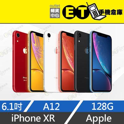 ET手機倉庫【9.9新 Apple iPhone XR 128G】A2105 黑/紅(6.1吋、蘋果、原盒)附發票