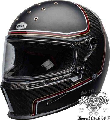 ♛大鬍子俱樂部♛ Bell ® Eliminator Carbon RSD The Charge 碳纖維 全罩 安全帽