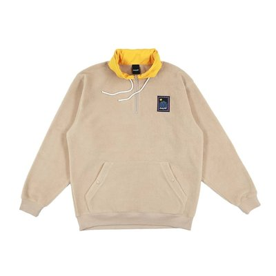 { POISON } ONLY NY OUTDOOR GEAR FLEECE PULLOVER 戶外風格套頭衫 沙色